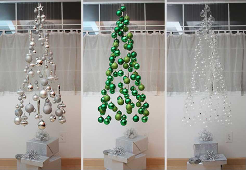 Креативные украшение на новый год своими руками